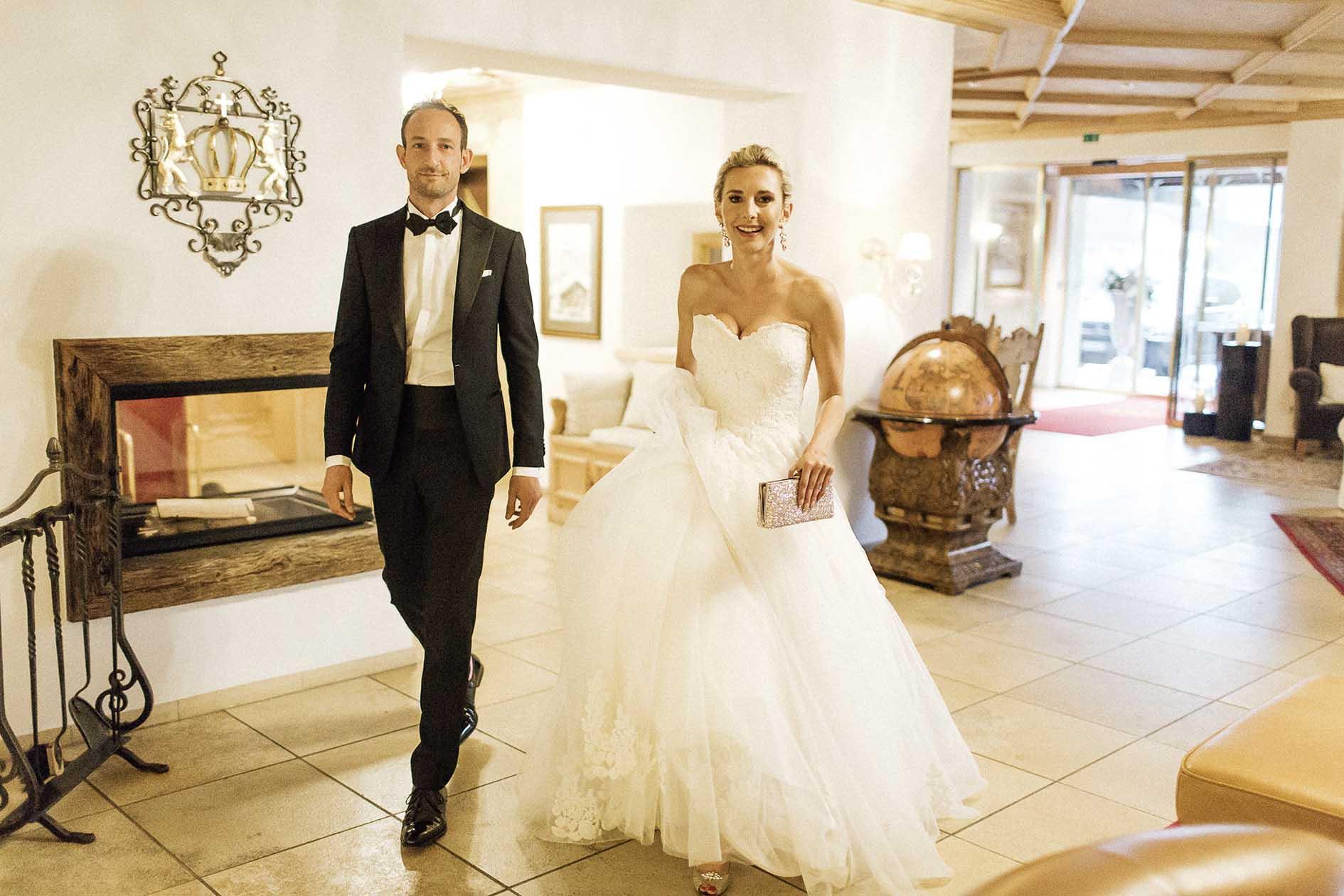 """Hochzeitslocation """"Die Krone von Lech"""""""