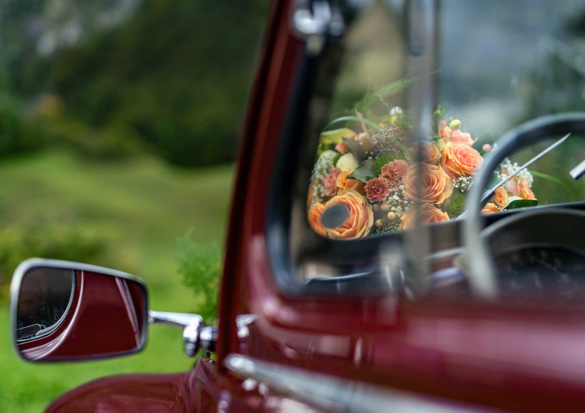 Hochzeits-Fahrzeuge von Arlberg Express