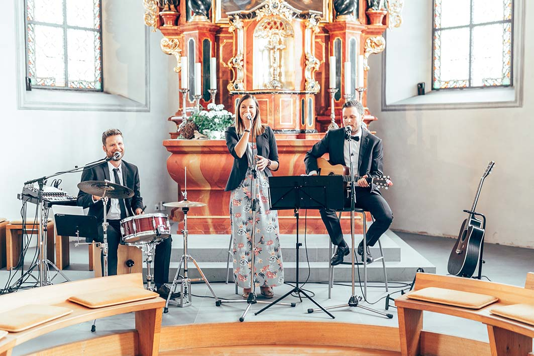 Hochzeitsband DreiV acoustic