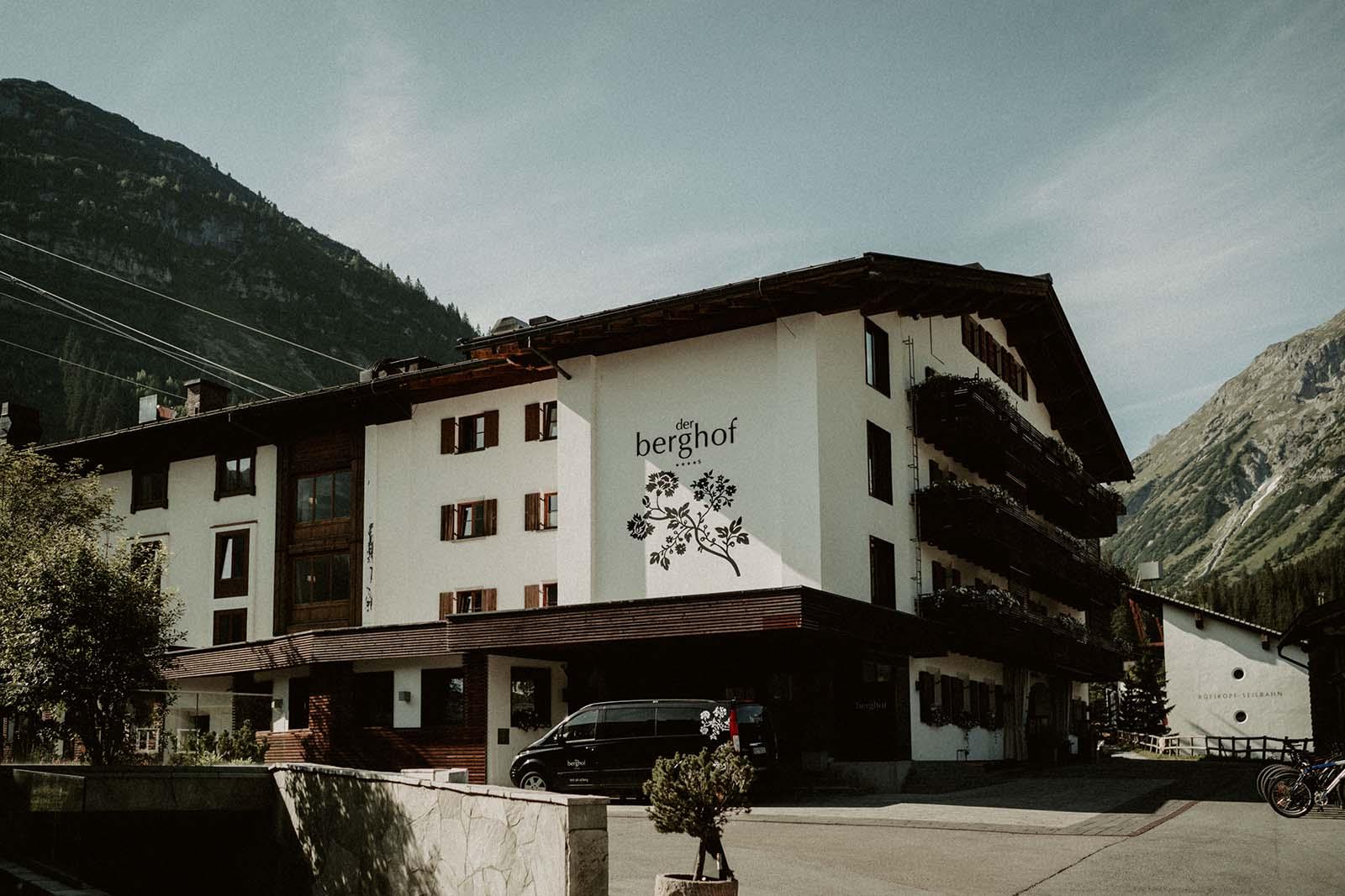"""Hochzeitslocation """"Hotel Der Berghof"""""""