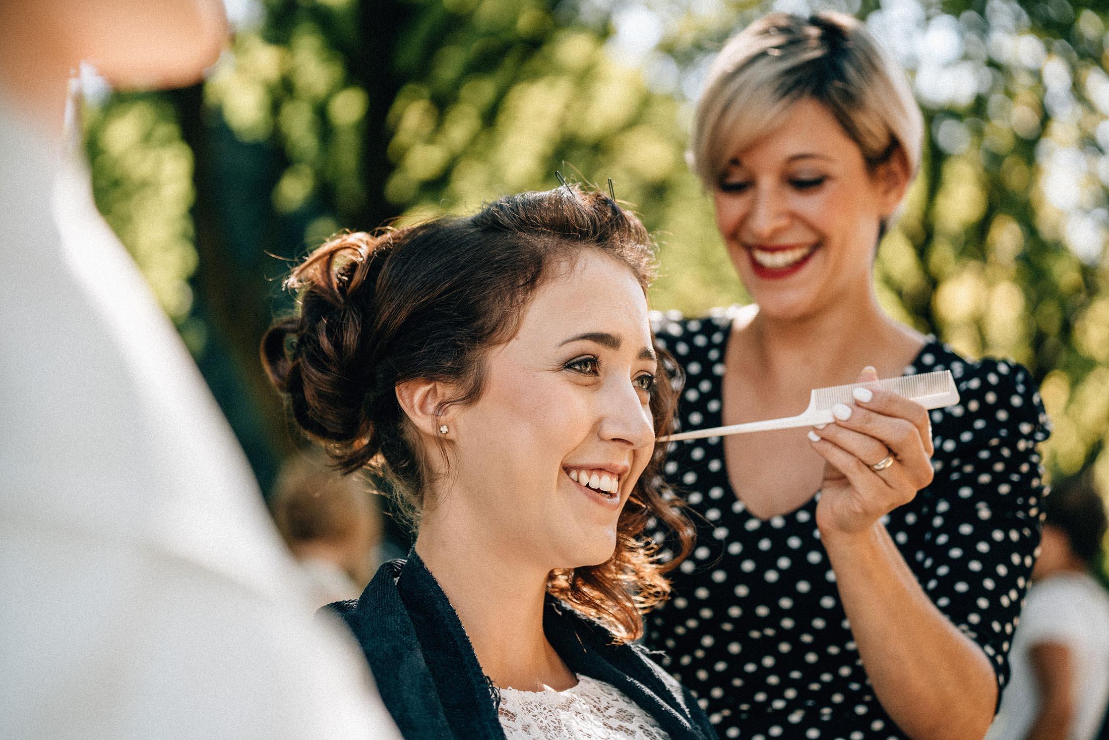 StilKamm | Mobile Friseurin für eure Hochzeit