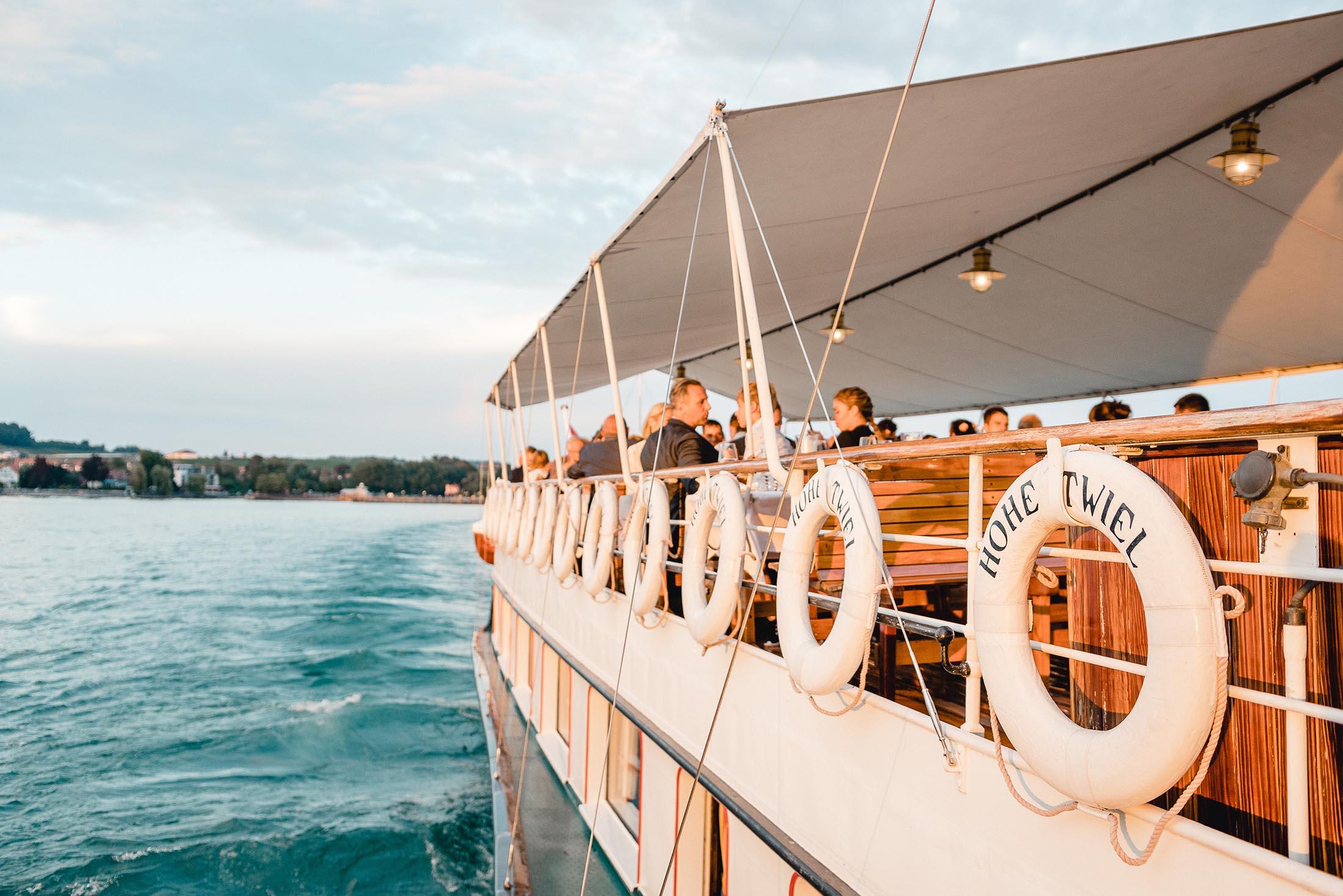 Hochzeit auf dem Schiff | Hohentwiel & Oesterreich