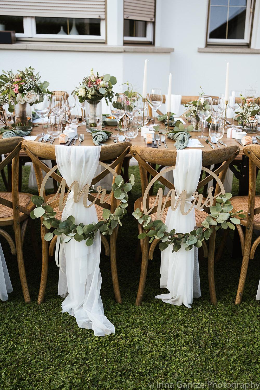 Corona Wedding: Hochzeit daheim im Garten