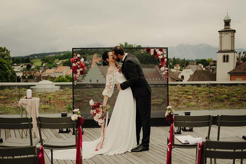 Klischeelose Fine Art Hochzeit in Feldkirch