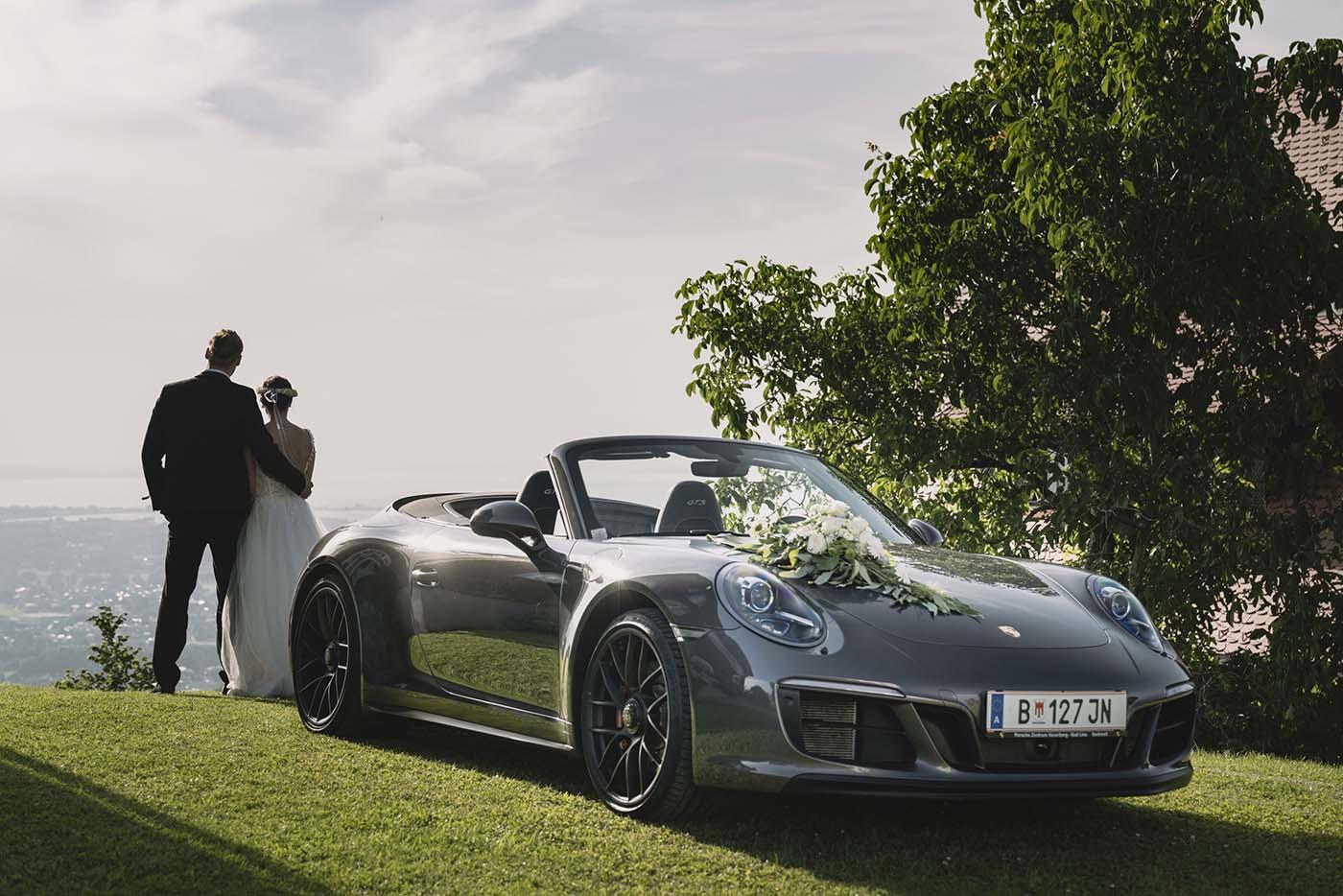 Sportwagen Bodensee –Luxus-Fahrzeug für eure Hochzeit