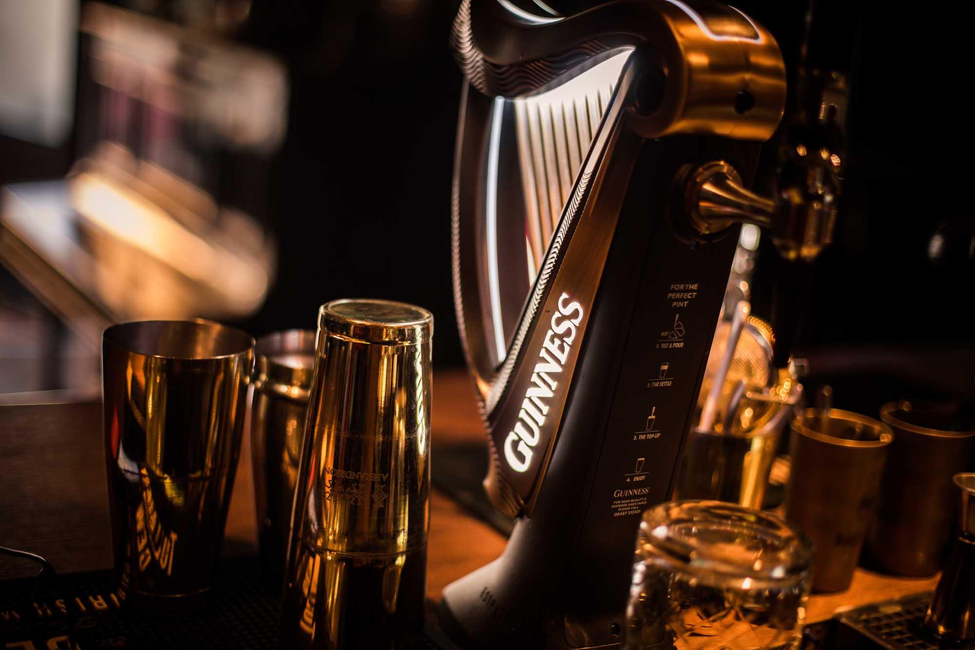 Mr. Guinness –Bier-Catering für eure Hochzeit