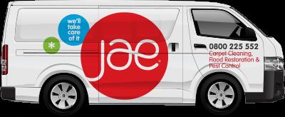 JAE Carpet Cleaning Van