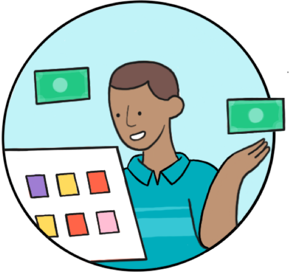 A finance executive considers all the vendor payment options at his fingertips