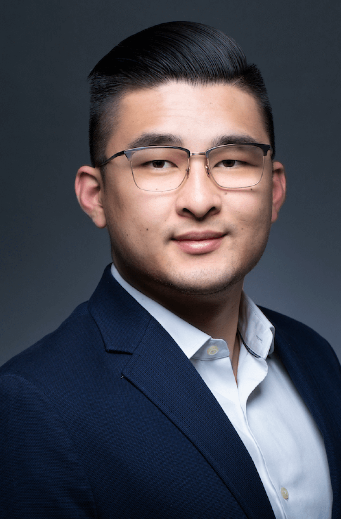 Headshot of Michael Zheng, Head of finance at Affinity