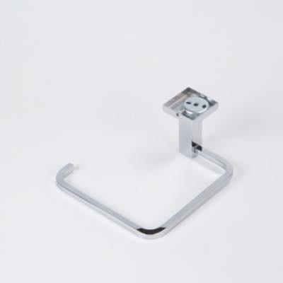 Custom made stainless steel cast towel ring chromed plated.