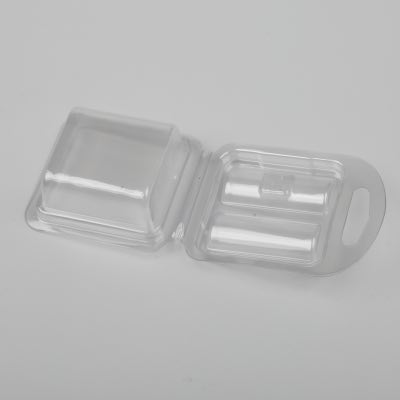 Blister box made with PVC/PET/PP