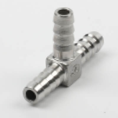T hose fitting, hose coupling, T shaped hose fitting