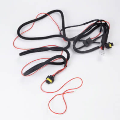 Wire harness, wires, fog light wires, copper, tin, plastic