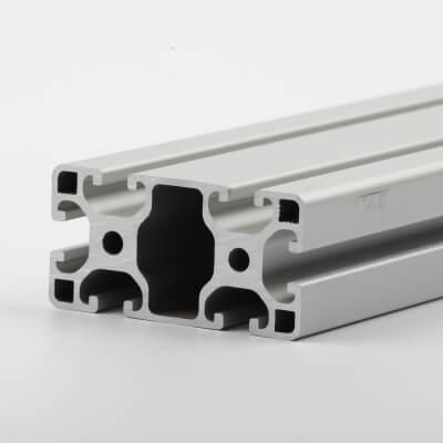 Aluminium extrusion clear anodised