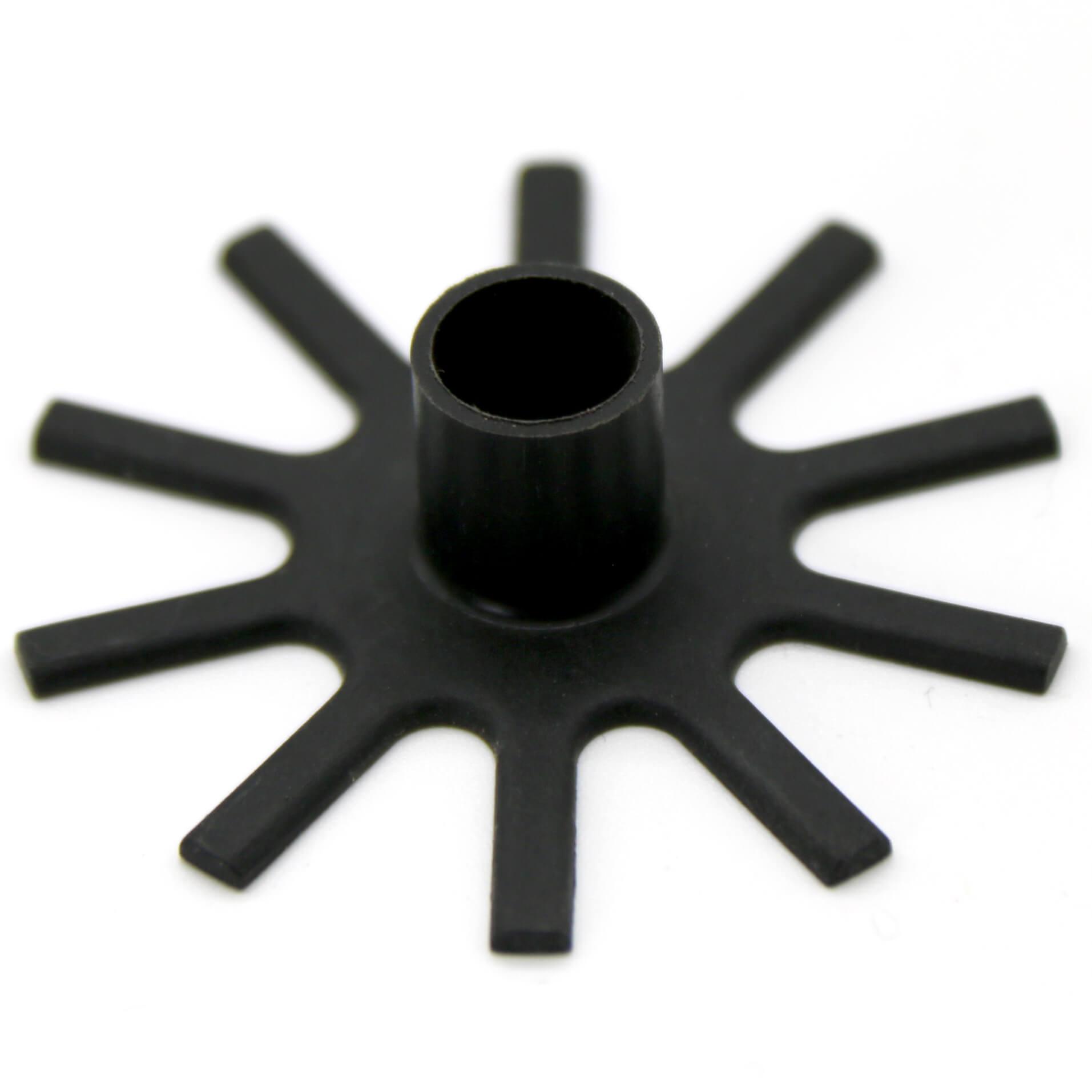Plastic internal components