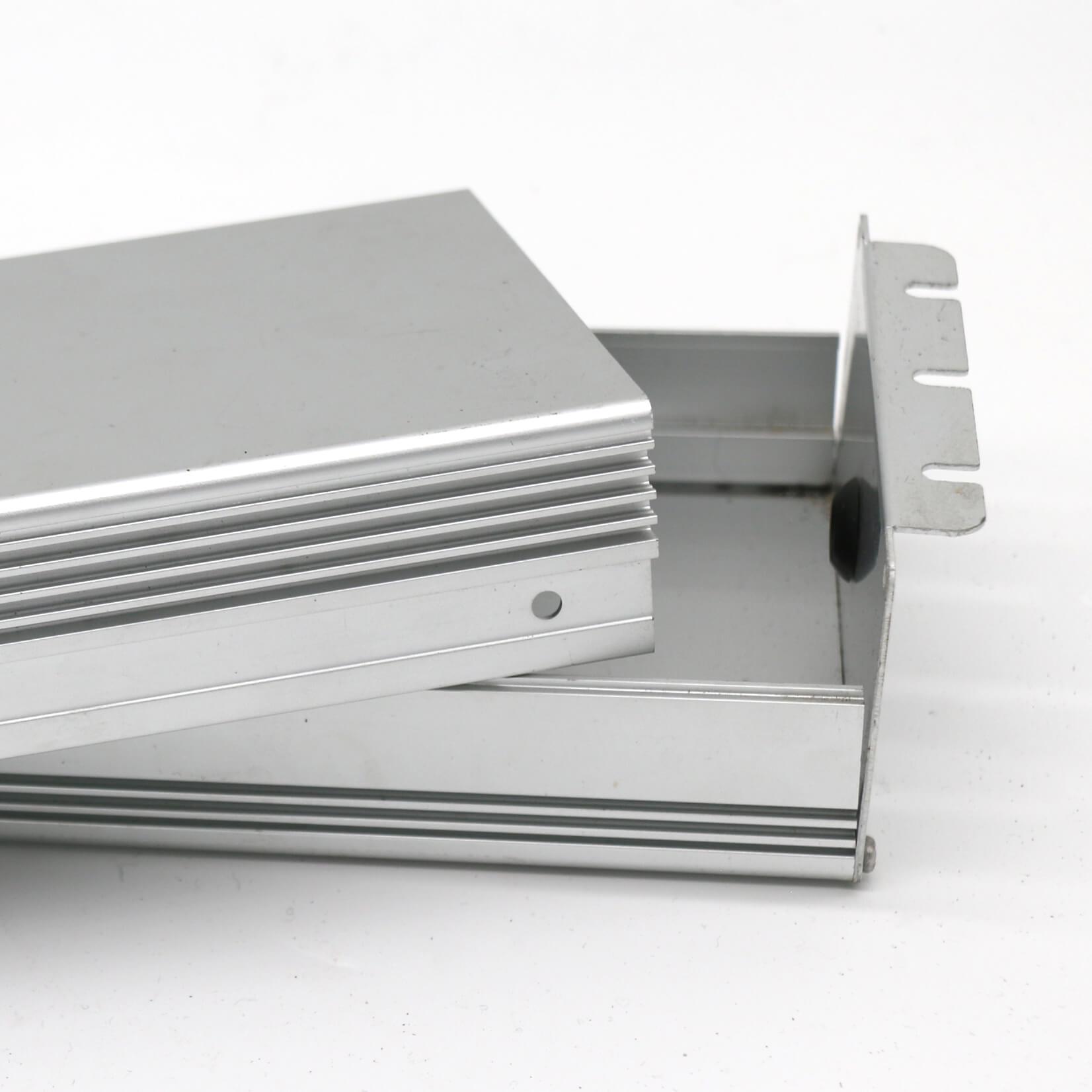 Aluminum enclosures anodized extruded, aluminium, anodised