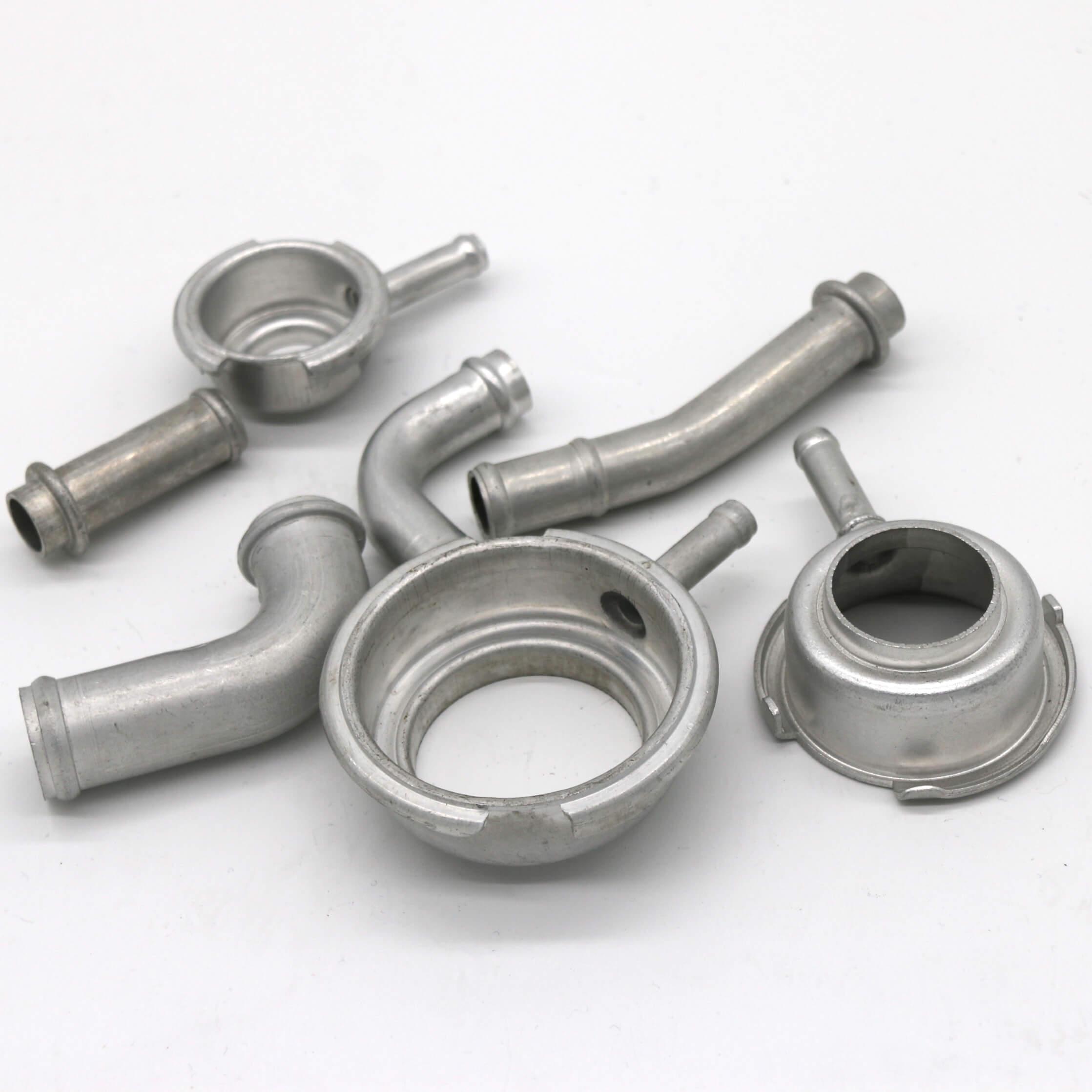 Brazed fitting brass and aluminum, fittings, aluminium