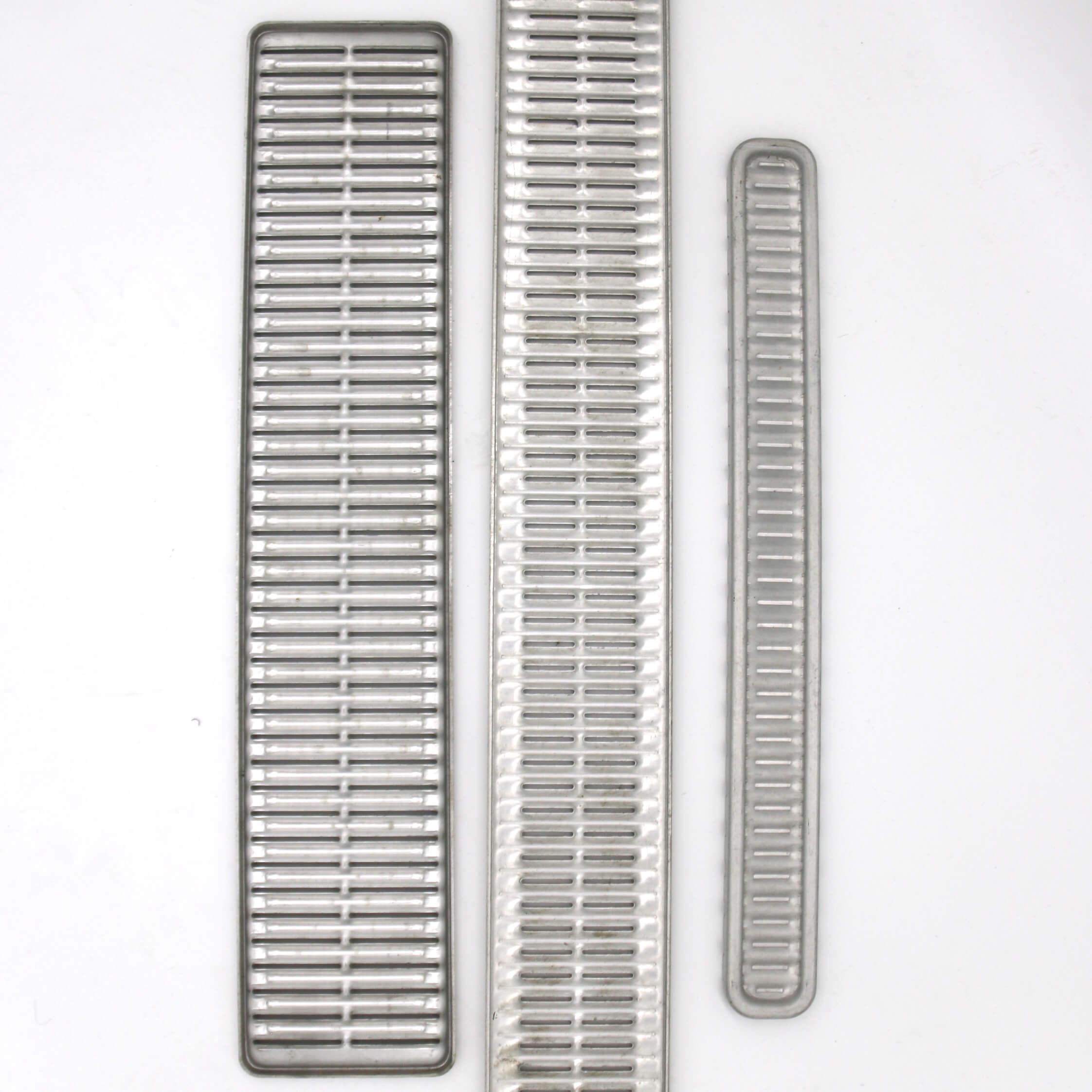 Radiator components stamped, brass, aluminum, aluminium, steel