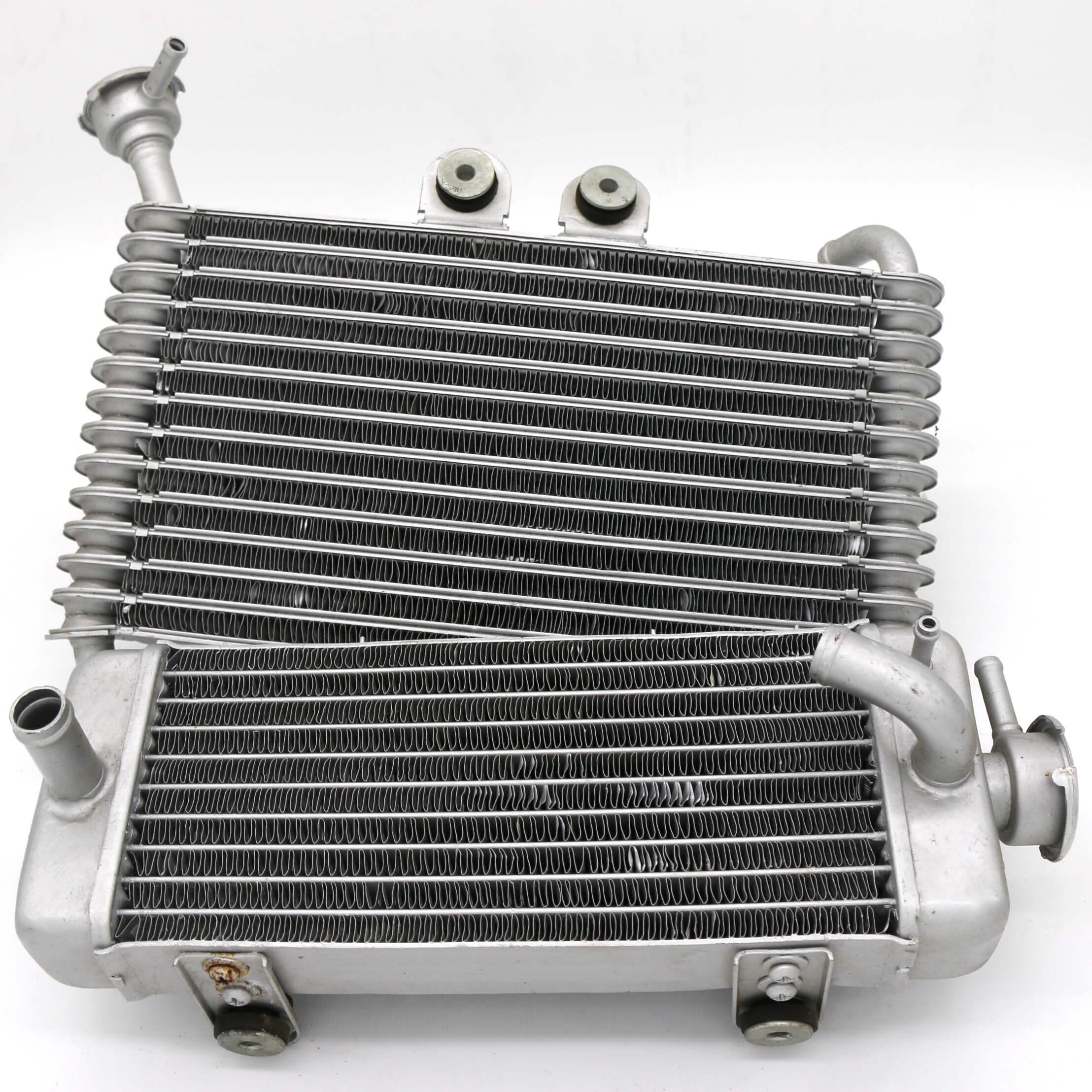 Radiator, aluminum, aluminium, brass, copper, and steel