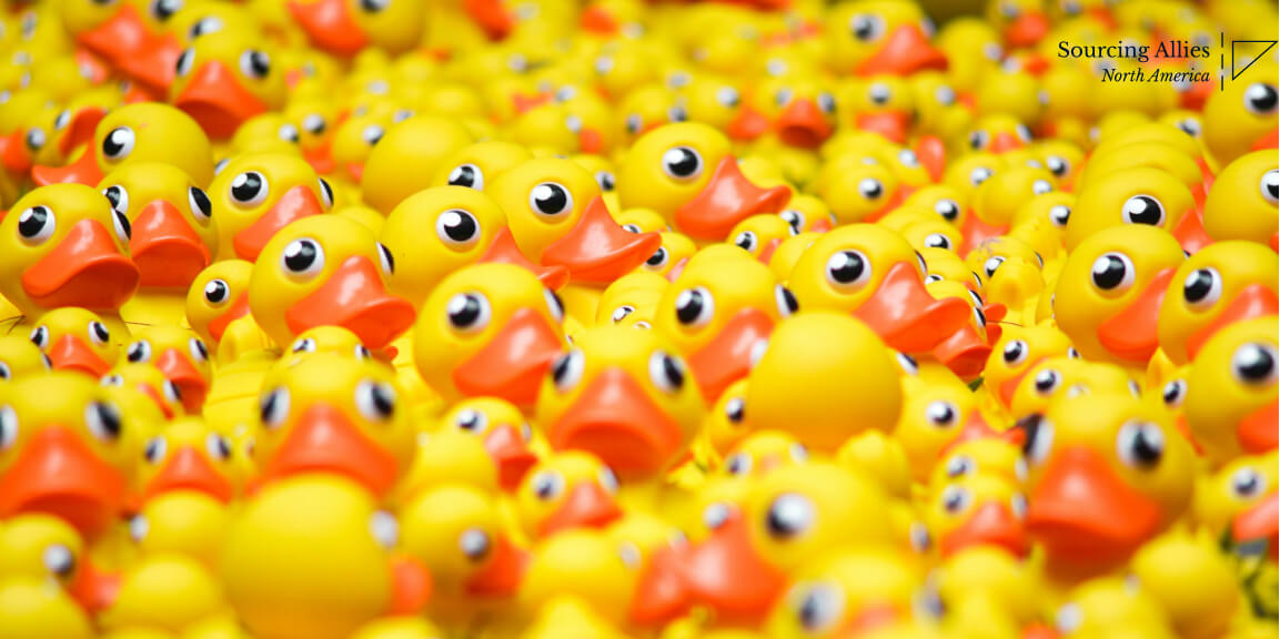 Import from China - Lot's of rubber ducks