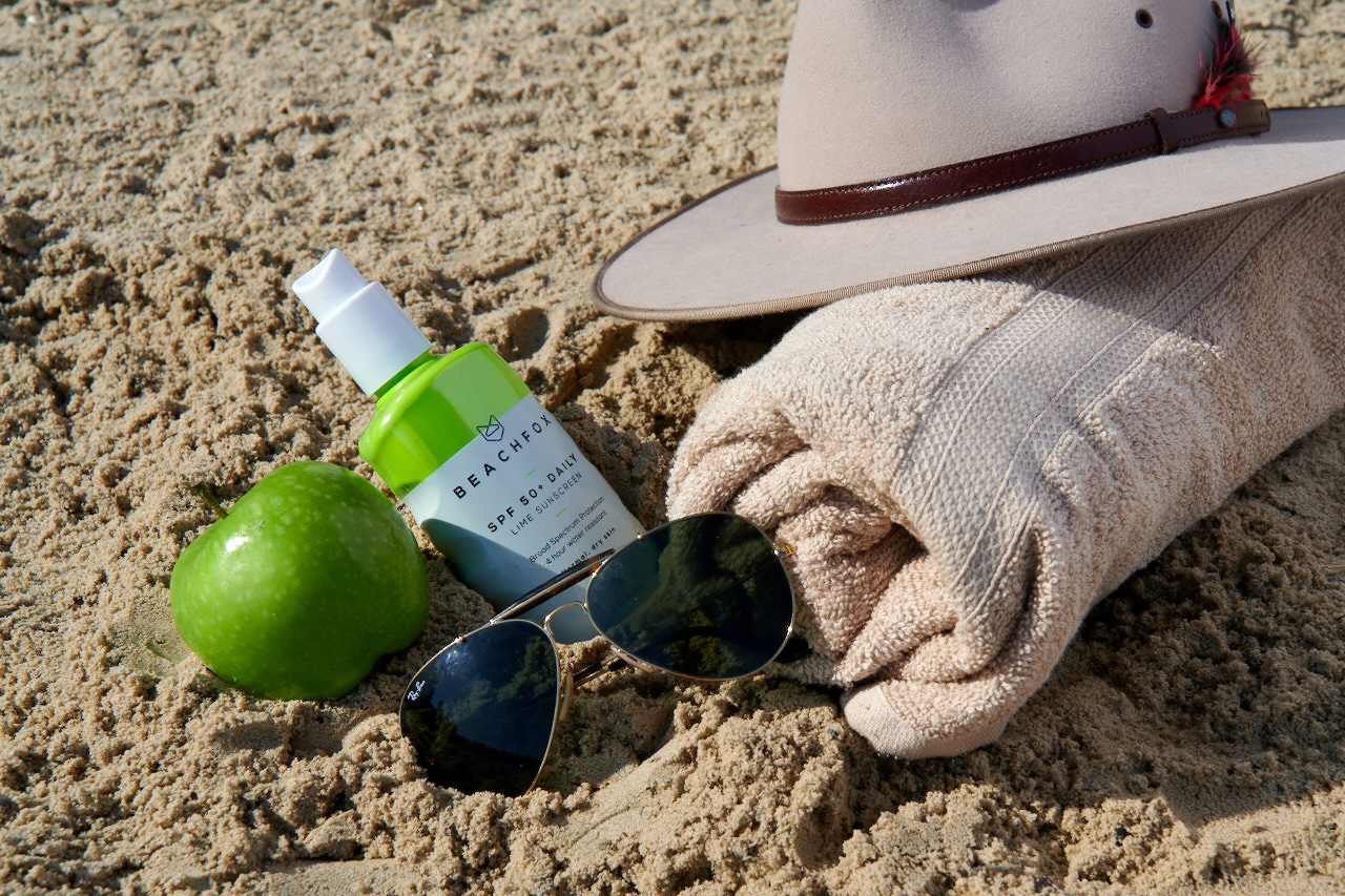 Beachfox Lime Sunscreen
