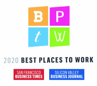 Best place to work logo.