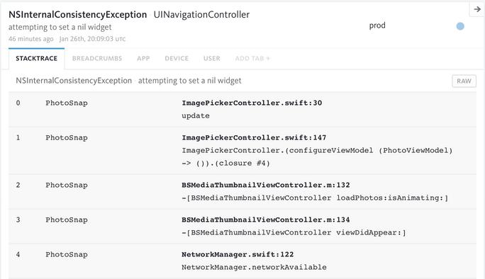 React Native Debugging & Error Reporting   Bugsnag Platform
