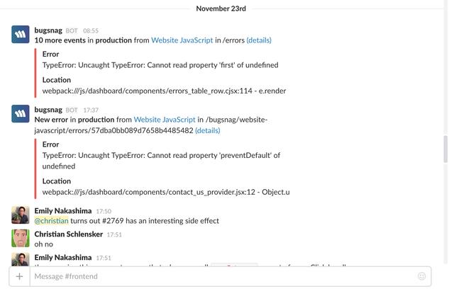 Vue js Error Monitoring & Reporting | Bugsnag Platform