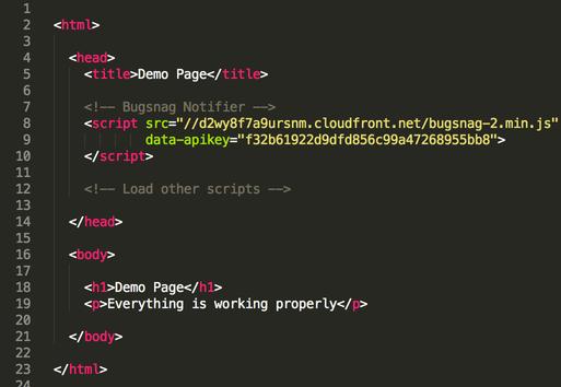 JavaScript Error Monitoring & Reporting   Bugsnag Platform