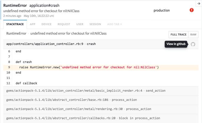 GitHub | Bugsnag Integration