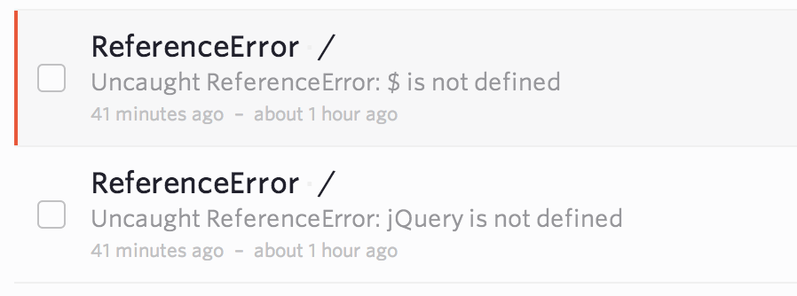 jQuery is not defined: Common causes and a simple solution