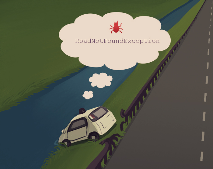 Self driving car bug