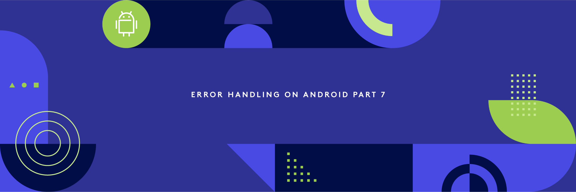 Error handling on Android part 7: capturing signals and exceptions