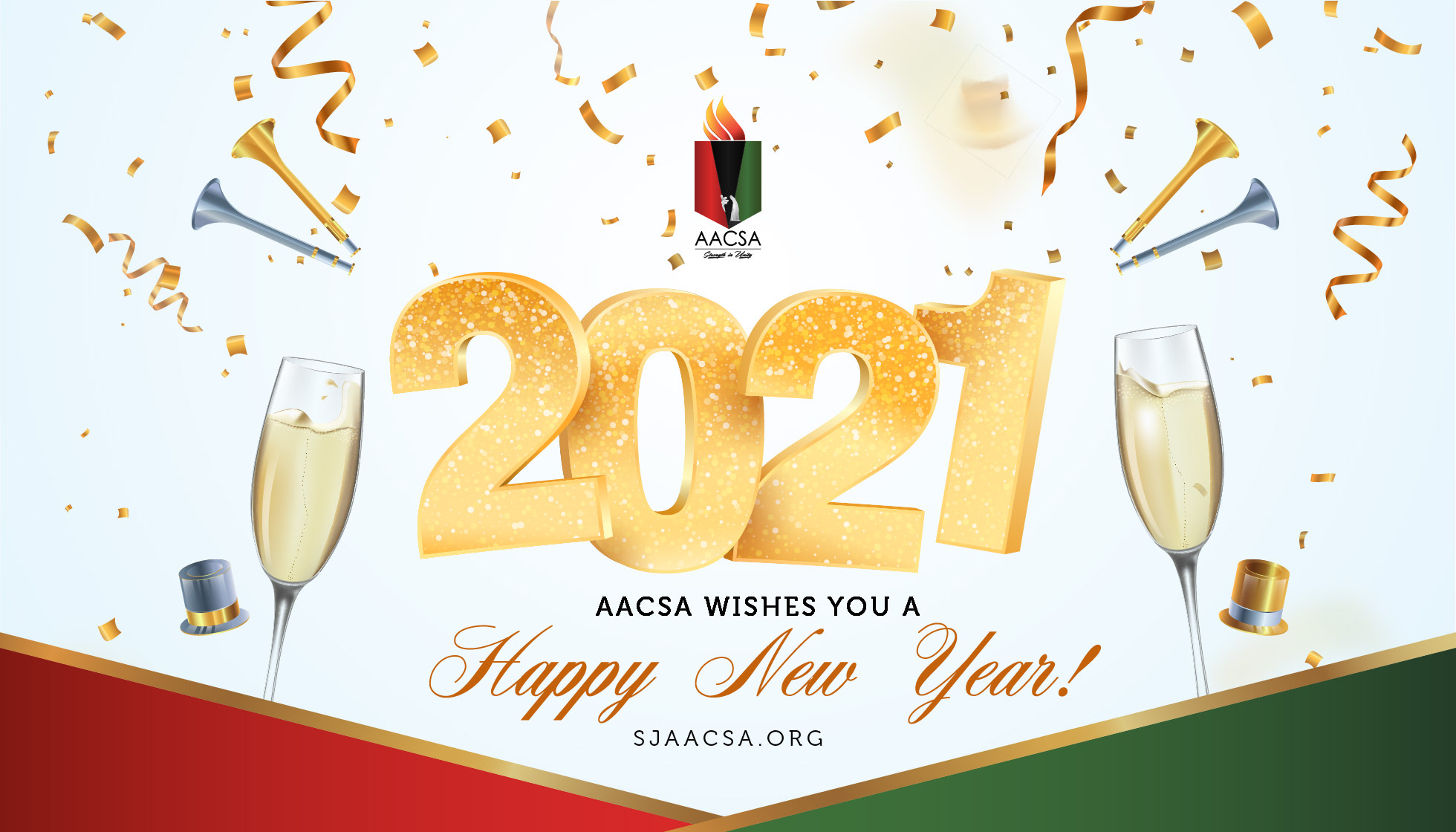 AACSA Wishes you a Happy New Year - 2021!