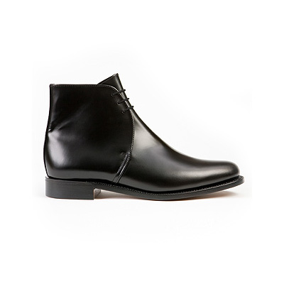 Sanders Plain Leather George Boots