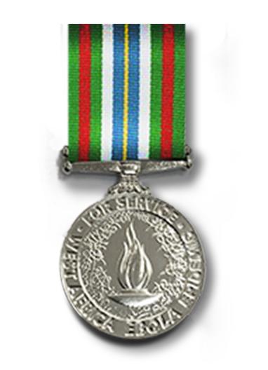 Ebola Medal