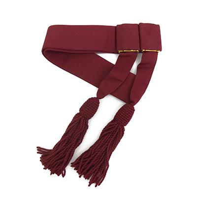 Crimson Waist Sash