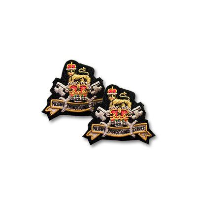AGC MPGS Collar Badges