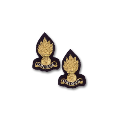RE Collar Badge