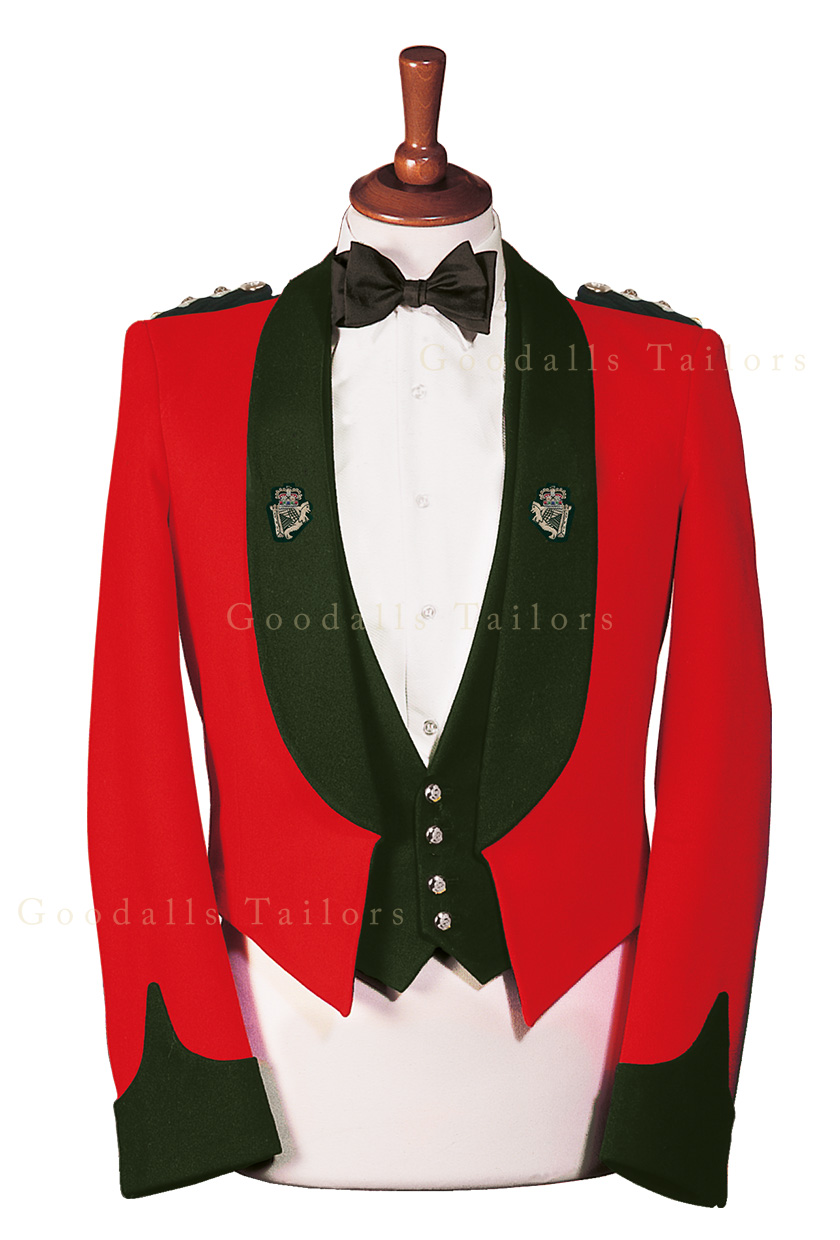Royal Irish Regiment Officer Mess Dress
