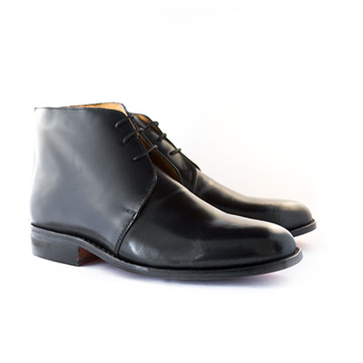 Boxed George Boots (Plain Leather)