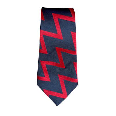 Royal Artillery Zig-Zag Tie
