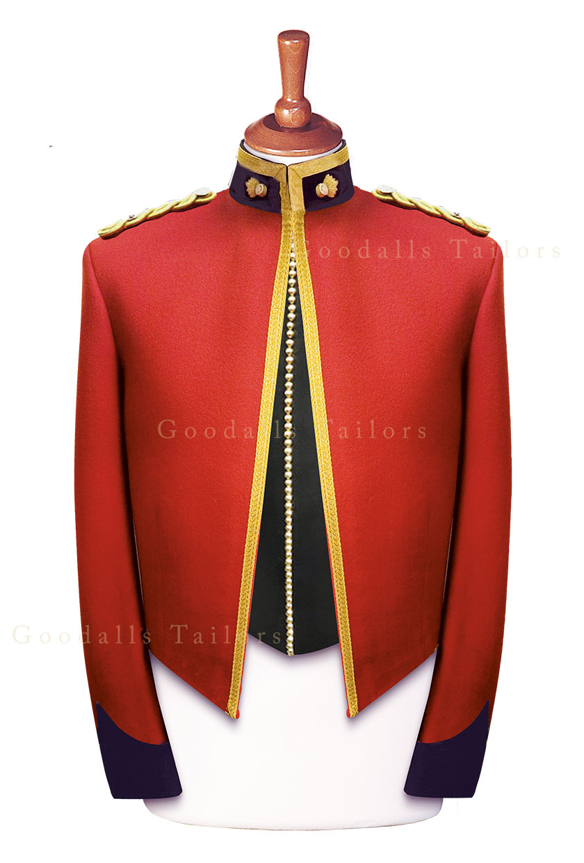 Royal Reg of Fusiliers Officer Mess Dress