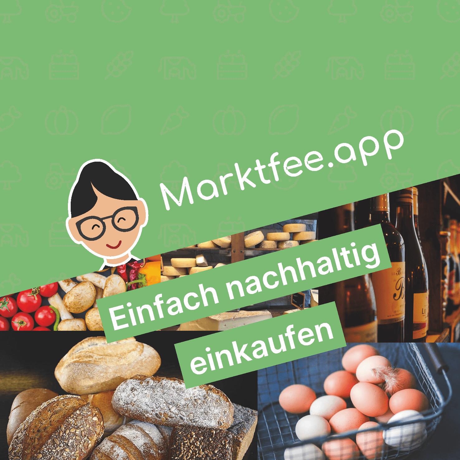 Marktfee.app Aufkleber 12cm