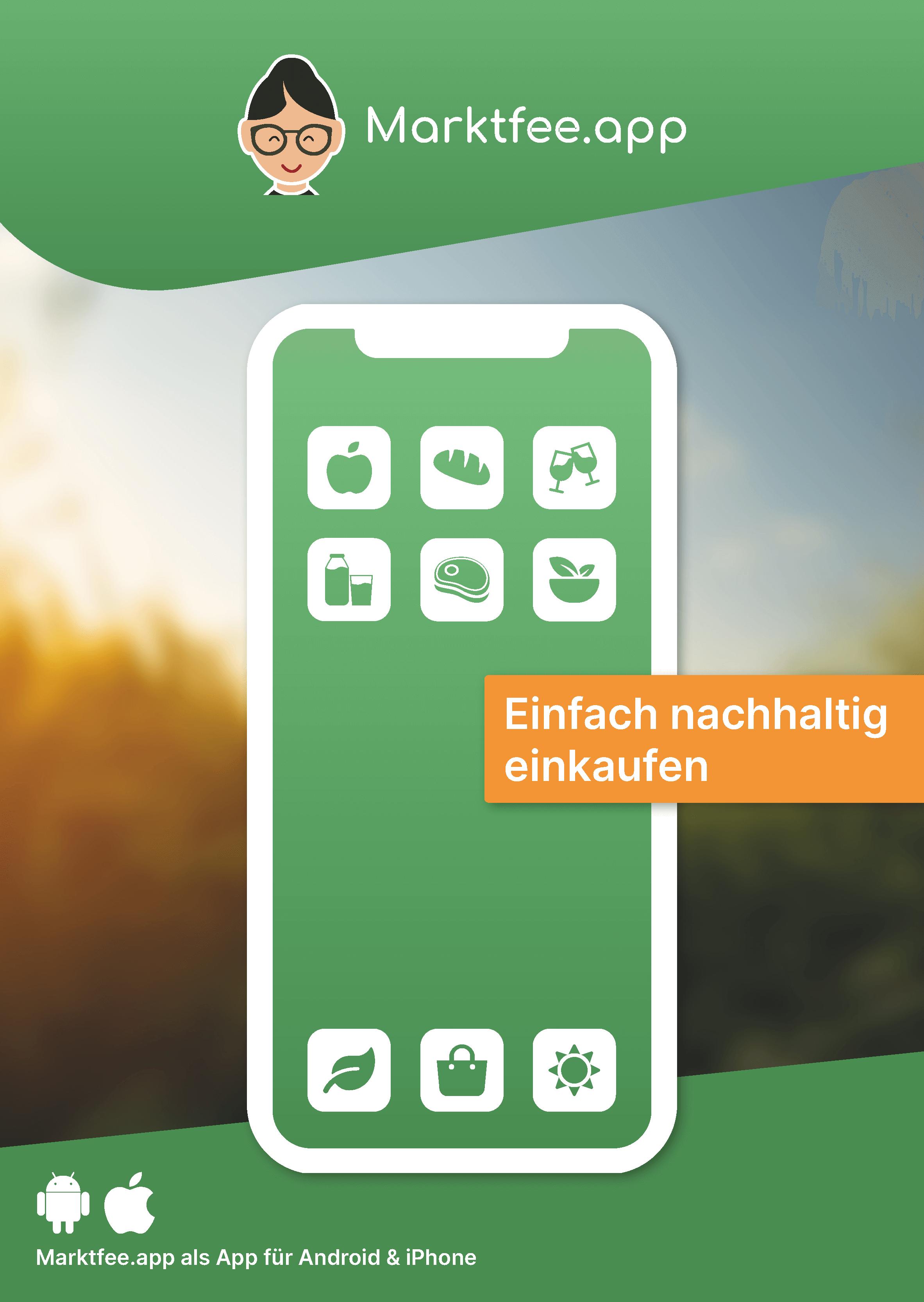 Marktfee.app Flyer A2