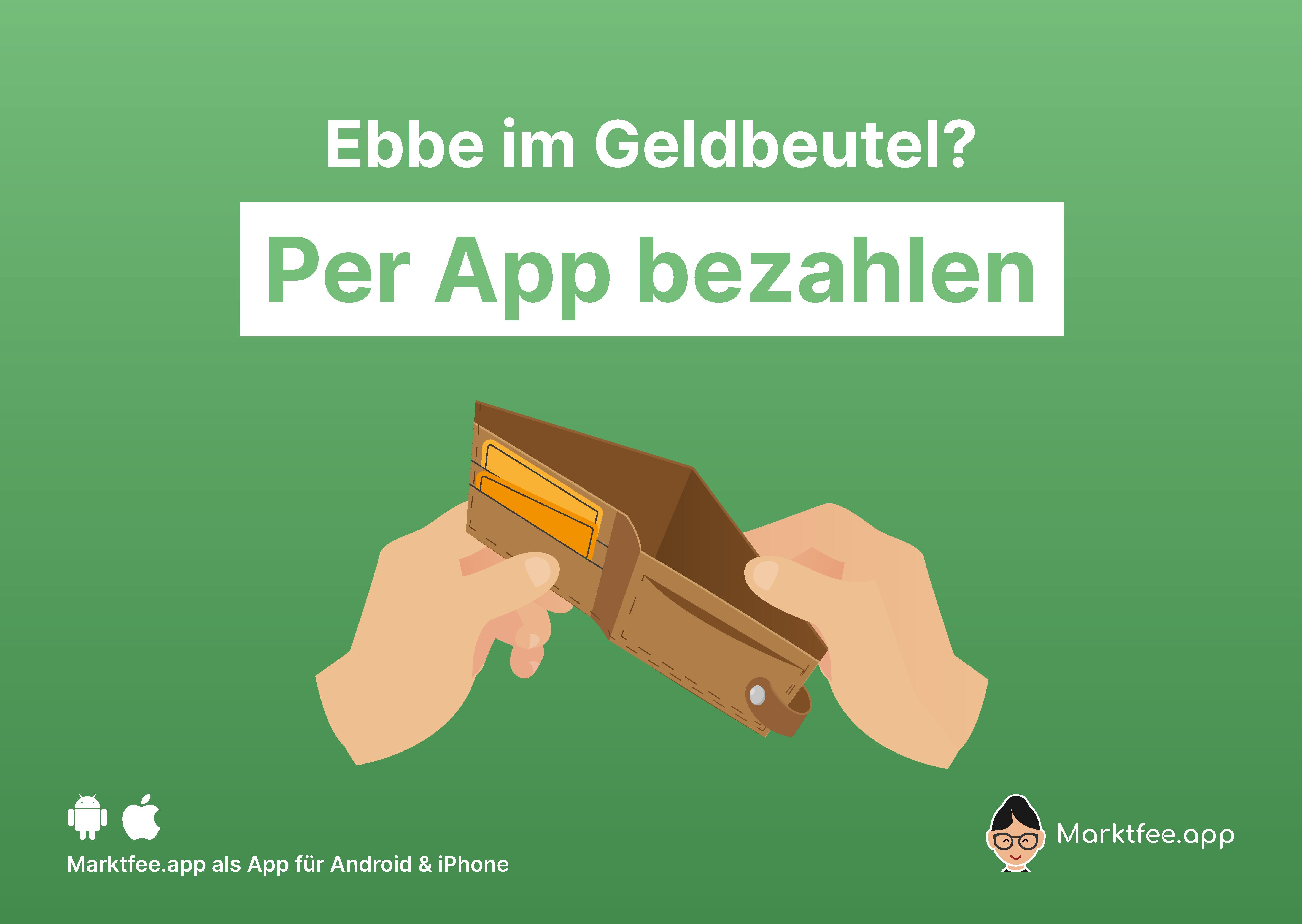 Marktfee.app Plakat A2