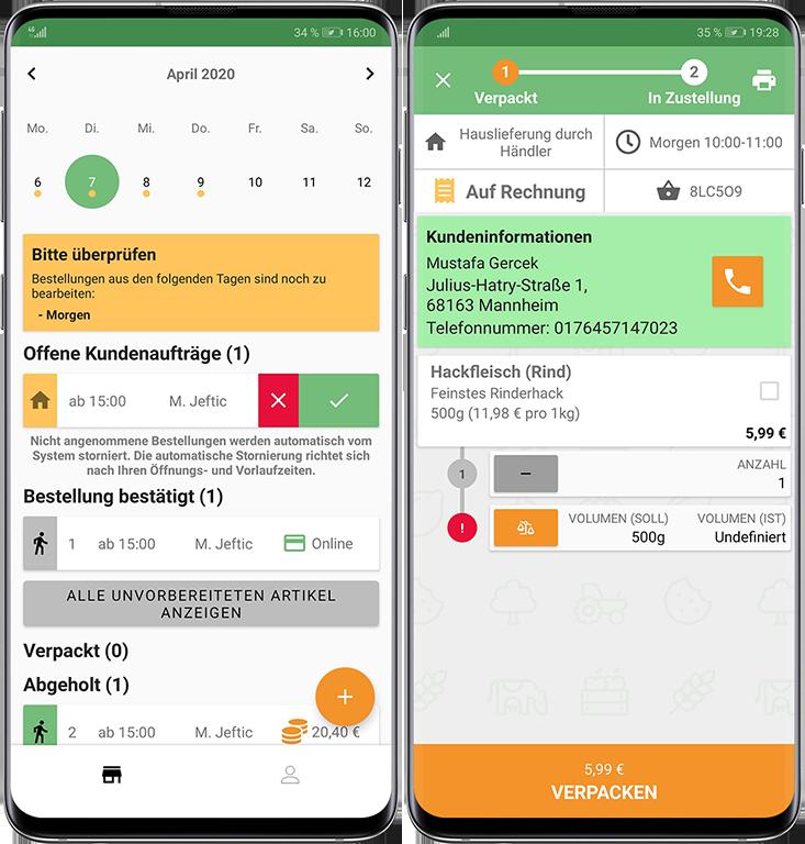 Anbieter App