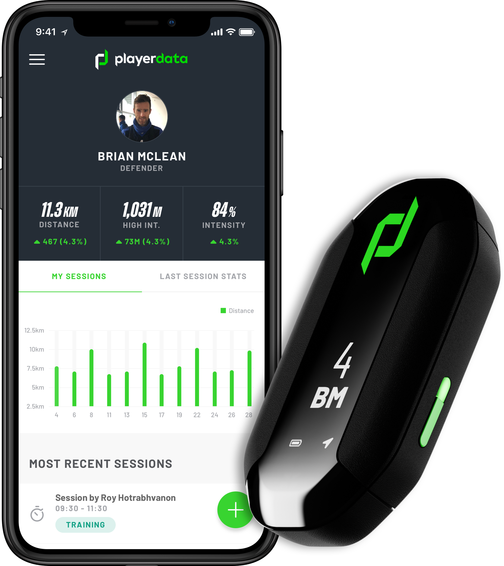 Device and PlayerData product