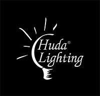 Huda lighting logo