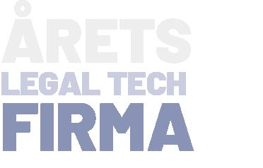 Årets Legal Tech firma_2019_RISMA Systems